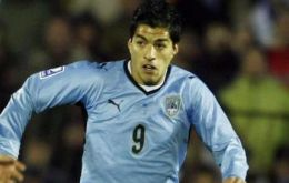 Two times striker and best player, Liverpool's Luis Suárez