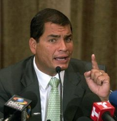 "President Correa wins first round against the corrupt ""assassins of ink"""