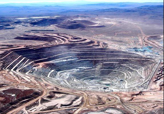 escondida copper mines