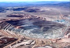 The Escondida mine, the largest in the world