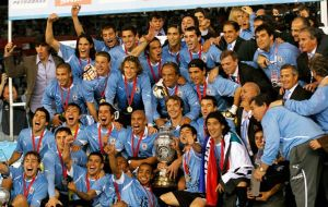 Champions of 15th Copa America Team