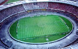 The stadium is famous because in the 1950 World Cup Brazil suffered a shock final loss to Uruguay