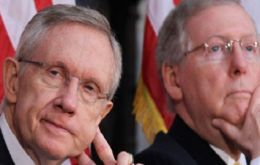 US Senate Majority Leader Harry Reid and Republican leader Mitch McConnell brokered the agreement