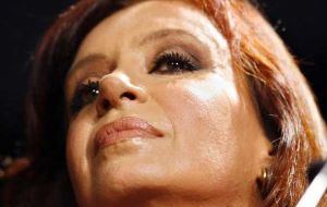 No opposition candidate can match President Cristina Fernandez