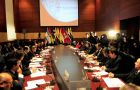 The moment to act as a group, said Colombian Finance minister Juan Echeverry