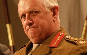 Field Marshal Sir John Lyon Chapple, GCB, CBE was also head of the UK Army from 1989 to 1992