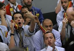 Sao Paulo's Bovespa had a record trading of over a million operations