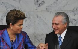 Rousseff using the 'clean-government' broom against Temer