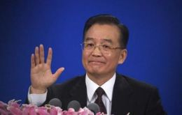 Premier Wen Jiabao: very hard to keep inflation on target and more 'hard work' is needed