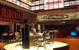 Brazil's Bovespa the region's main stock exchange climbed 1.7%