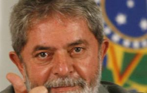 The former president said Brazil is a good example how to overcome crises