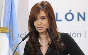Presidential hopefuls' strongholds also voted for CFK, except San Luis
