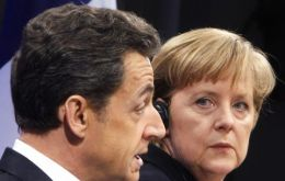 Euro bonds at the end of the EU integration process, not at the launching, said the two leaders
