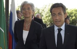 She approved a 285 million Euro settlement for allegedly a good friend of President Sarkozy (Photo AP)
