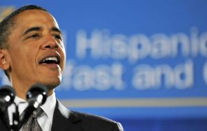 President Obama sends a strong message to the Hispanic community
