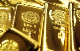 Gold brighter than ever closed Friday at 1.846 dollars an ounce