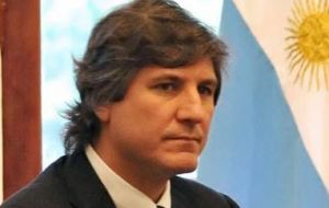 Minister Amado Boudou confident the Argentine economy can weather external shocks
