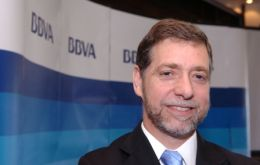 BBVA chief economist for Latin America, Joaquin Vial: any crisis will be manageable