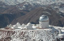 Cerro Tololo Inter-American Observatory in northern Chile