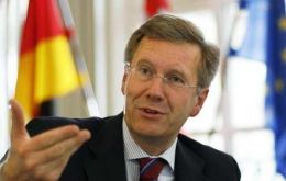 "German president Christian Wulff said ECB was ""asking for trouble"""