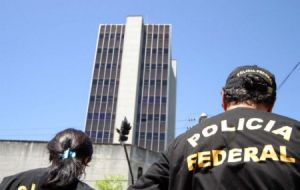 The 35 member gang emptied the vault of the Central Bank Fortaleza branch