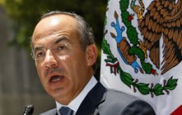 "President Felipe Calderón: ""We're neighbours, we're allies, we're friends, but you are also responsible"""
