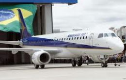 The Brazilian made Embraer 190 has become a fierce competitor for the more traditional US and EU corporations
