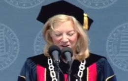 Dr. Amy Gutmann, chair of the Bioethics Commission and president of the University of Pennsylvania.