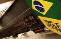 Trading value in Brazil was half the normal average