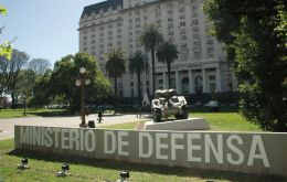 The Argentine Army headquarters in Buenos Aires