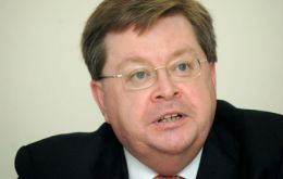 Ian McCafferty, CBI chief economic adviser, not sure how to react to the situation
