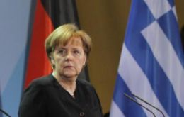 "Greece (and Angela Merkel) on a ""knife's edge"""