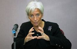 "IMF' Lagarde: the novelty is that ""there are many more partners around the table"""
