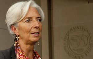 IMF chief: why only German and UK bonds?  (Photo Getty Imagines)