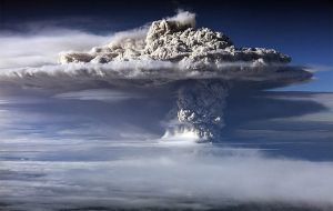 The Puyehue volcano in Chile covered the area with ashes and dust