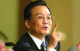 PM Wen Jiabao said China wants to be recognized as a 'market economy'