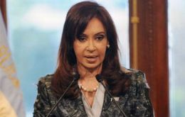 Cheaper to pay debt with reserves than to borrow, President Cristina Kirchner
