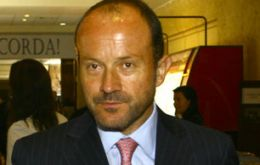 Chief operating officer, Ignacio Cueto, a big step forward, but hopefully in the first quarter of 2012
