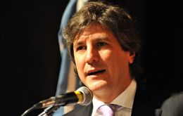 "Economy minister Boudou tell his peers ""seize the opportunity"""