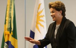 President Rousseff invited a Uruguayan delegation to Brasilia for discussions