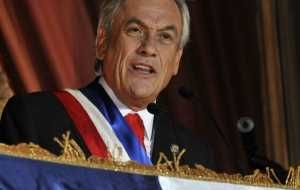 The students conflict has hit hard and eroded confidence in Piñera
