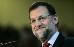 Mariano Rajoy if elected next month, won't have much time left after focusing on the economy