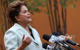 Government budget cuts are creating space for lower rates, said Dilma Rousseff