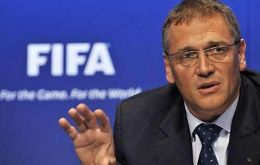 "'We re-examined preparations for the World Cup"" said Secretary general Valcke"