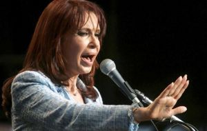 "Cristina Fernandez de Kirchner administration accused of ""consecrating an only official speech"""