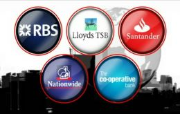 The list includes Lloyds TSB, RBS, Nationwide and Santander UK (Photo BBC)