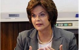 President Rousseff claims 62 tons of drugs and 6.5 of ammunition have been seized since last June