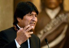 President Morales does not have the support of the lowland peoples