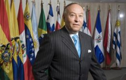 Garcia said the region's governments are 'scared' of the magnitude of the Euro and US crises
