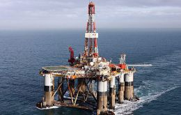 A well will be drilled during the current campaign using the Ocean Guardian rig.